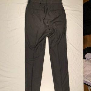Grey Calvin Klein Slim-Fit Dress Pants